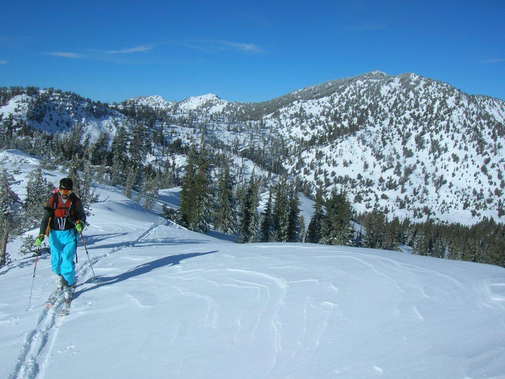 relay peak ski tour
