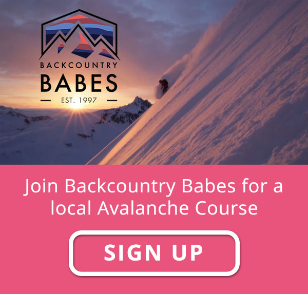 Join Backcountry Babes for a local avalanche course